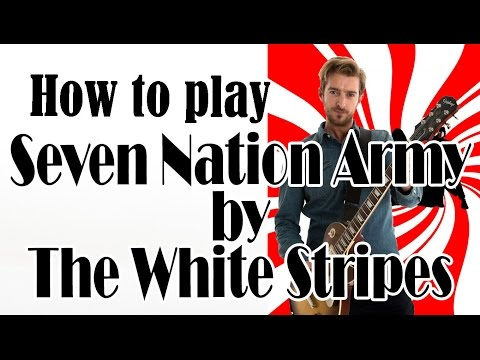 Seven Nation Army | The White Stripes (How to Play) Easy Beginner Rock Guitar Songs