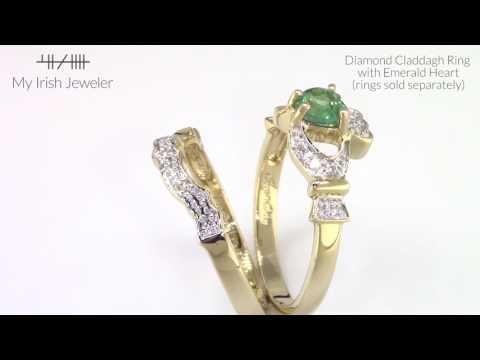 My Irish Jeweler diamond engagement ring