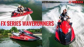 9. 2017 Yamaha FX Series WaveRunners