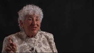 Helen Kurzban, Brooklyn-born native Yiddish speaker, remembers the time she used a Yiddish word in her German class. To learn more about the Yiddish Book ...