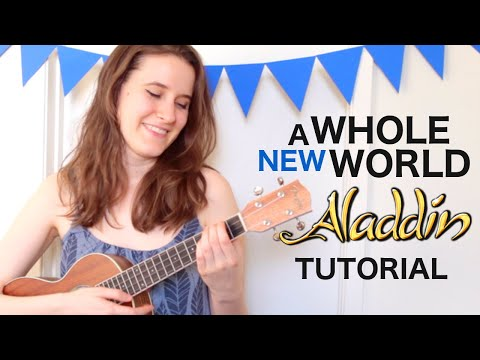 A Whole New World - Disney's Aladdin | Ukulele Tutorial