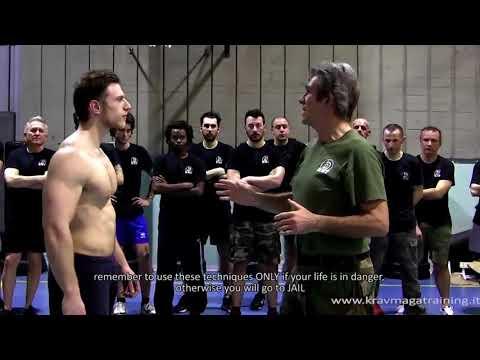 KRAV MAGA TRAINING • Knockout Pressure Points part 1 of 5