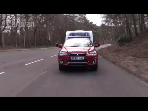 Practical Caravan reviews the Mitsubishi ASX 4 2.2 4WD Automatic