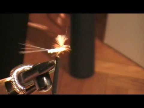 Flugbindningsvideo: Att binda med Polychenille