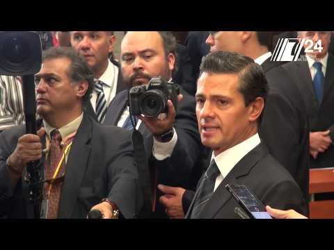 Peña anuncia acciones para libertad de expresión