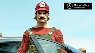 【実写版スーパーマリオをCMに!?】メルセデス・ベンツが世に放つ「新型SUV GLAクラス」の破格のCMとは