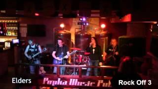 Video Elders  - Rock Off 3 - 2016, Popka Music Pub Košice, Projekt: Po