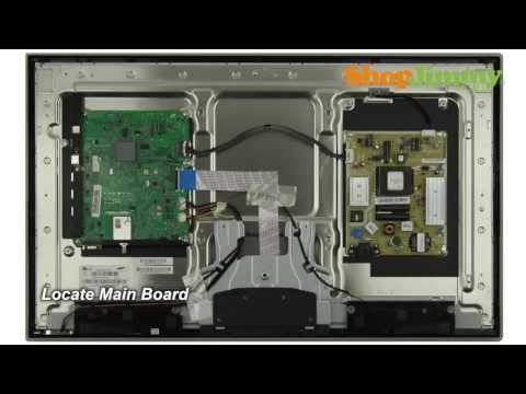 Samsung TV Repair Main Boards Replacement Guide for Samsung UN32D4000NDXZA LED TV Repair
