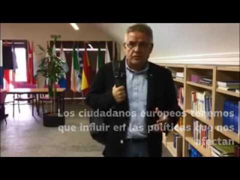 15/12/2016. Carlos Susías llama a participar en la Consulta europea sobre derechos sociales