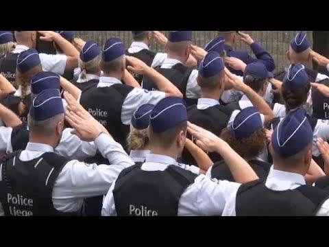 Βέλγιο: Ύστατο χαίρε στις δύο αστυνομικούς στην Λιέγη
