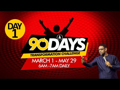 COZA 90 Day Challenge Monday 1st March 2021 - Day 1