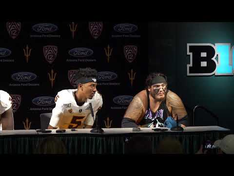 Players Post Game Media Availability | Football vs Michigan St.
