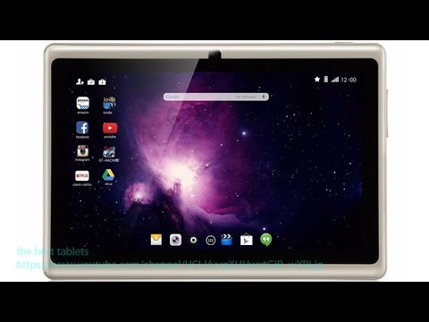 Dragon Touch Y88X Plus Review 7'' Quad Core Google Android 4.4 KitKat