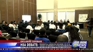 Suab Hmong News: HSA DEBATE: Presidential Candidates for Hmong 18 Council of Wisconsin - 10/26/2014