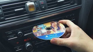Video What Happens When You Put a PS4 GAME DISC in a CAR CD PLAYER? MP3, 3GP, MP4, WEBM, AVI, FLV Agustus 2017
