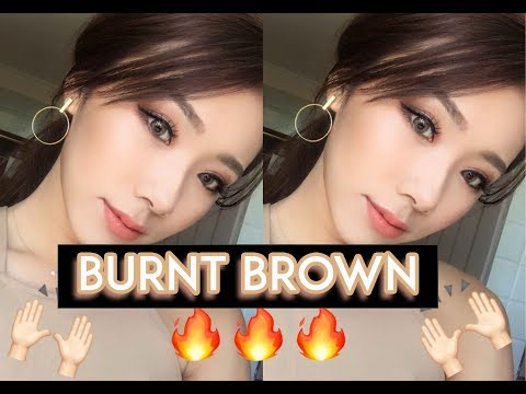 Burnt Brown Smokey Eye | MONGABONG