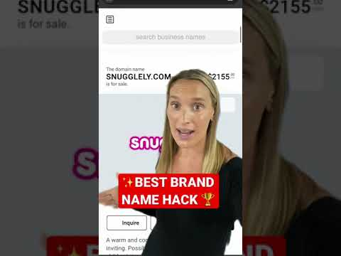 How to Name Your Shopify Brand   Ecommerce HACK #shorts