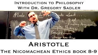 Intro To Philosophy: Aristotle, Nicomachean Ethics Book 6