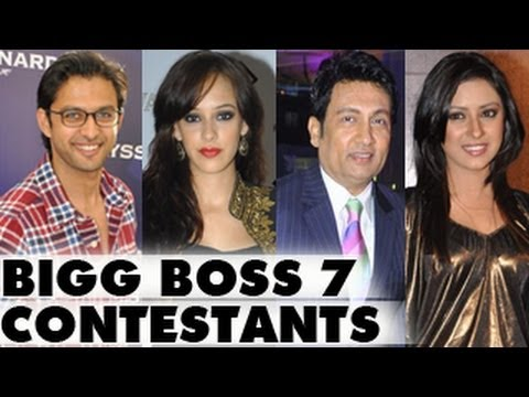 contestants - Bigg Boss 7 CONTESTANTS: MUST WATCH- The popular reality show Bigg Boss 7 is all set to start on September 15th. Check out the tentative contestants list tha...
