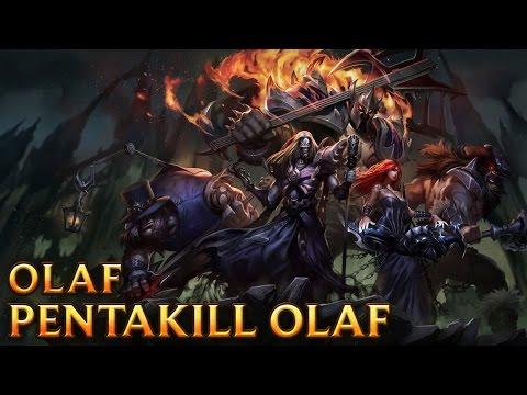 Pentakill Olaf Skin - Trang phục Olaf Pentakill