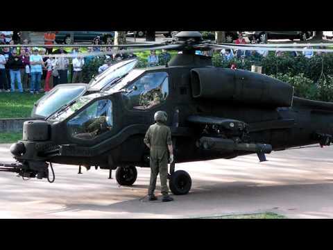 Mangusta Agusta A129, partenza...