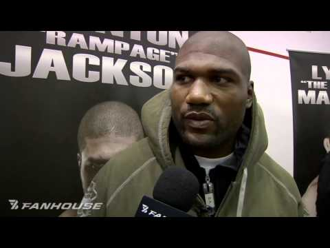 Rampage Jackson Open to Pro Wrestling Career in Future