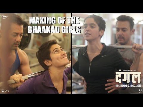 Making of The Dhaakad Girls | Dangal | In Cinemas Dec 23 (видео)