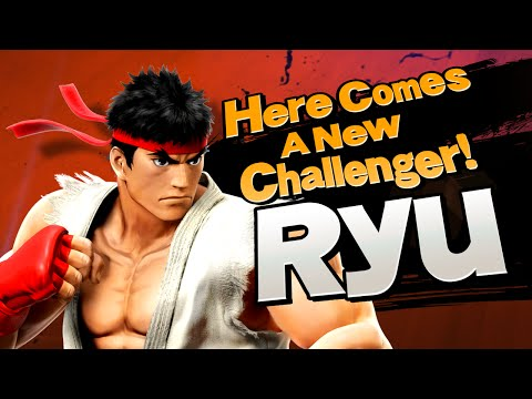 Super Smash Bros – Ryu Joins The Battle – HD Gameplay Trailer