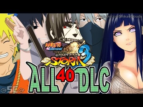 ★NARUTO STORM 3 | - All 40 Alternate DLC Costumes! #1 【FULL HD 1080p】★