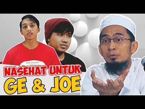 Download Video Jawaban Tegas Ust. Adi Hidayat Kepada Ge Pamungkas Dan Joshua