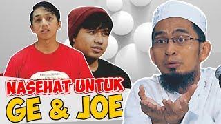Video Jawaban Tegas Ust. Adi Hidayat Kepada Ge Pamungkas dan Joshua MP3, 3GP, MP4, WEBM, AVI, FLV Januari 2018