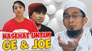 Video Jawaban Tegas Ust. Adi Hidayat Kepada Ge Pamungkas dan Joshua MP3, 3GP, MP4, WEBM, AVI, FLV Desember 2018
