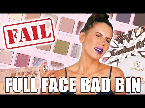 FULL FACE of PRODUCTS I HATE | The BAD Bin