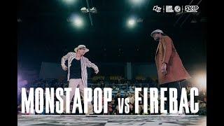Monsta Pop vs Fire Bac – OBS vol.12 Day3 Popping Final Battle