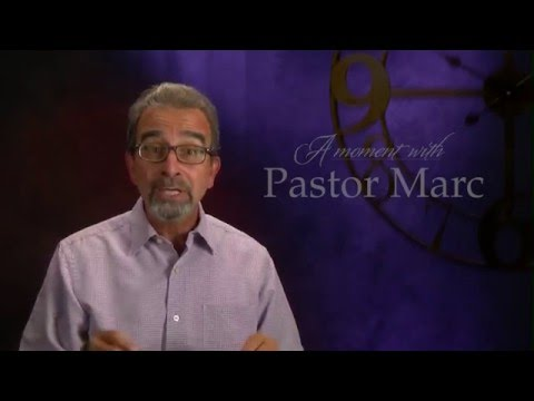 "A Moment with Pastor Marc #34<br /><strong>""Worryer's Prayer""</strong>"