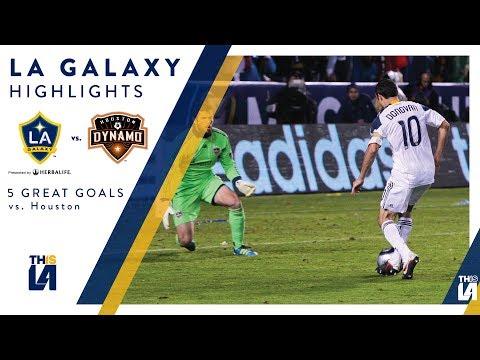 Video: Five Great Goals: LA Galaxy vs. Houston Dynamo