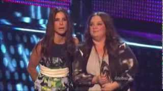 Sandra Bullock & Melissa McCarthy win at People's Choice Awards