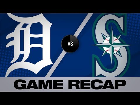 Video: Beckham, Vogelbach lead Mariners in 10-2 win | Tigers-Mariners Game Highlights 7/25/19