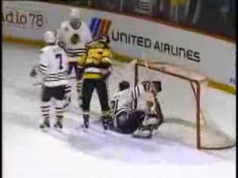 Dominik Hasek saves in Stanley Cup 92