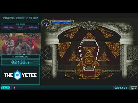 Castlevania: Symphony of the Night by Dr4gonBlitz in 28:56 - AGDQ 2018 - Part 49