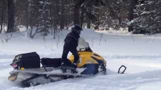 5. Снегоход BRP Ski-Doo Tundra LT 550F (2 Ча�ть)