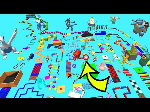 Roblox: EVERY CARTOON EVER OBBY!!!