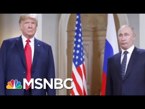 Donald Trump Touts Vladimir Putin Defense: 'He Said There Was No Collusion' | Velshi & Ruhle | MSNBC