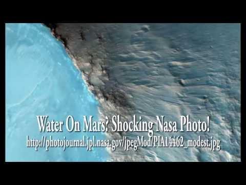 mars - UFO Sightings Water On Mars Discovered? Shocking Nasa Photo! Sept 2014 Nasa Original Link! http://photojournal.jpl.nasa.gov/jpegMod/PIA14462_modest.jpg http://photojournal.jpl.nasa.gov/catalog/PIA...