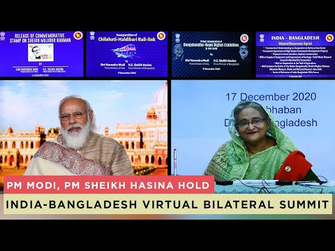 PM Modi, PM Sheikh Hasina hold India-Bangladesh virtual bilateral summit