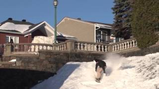 Real Snow 2016  Frank Bourgeois Watch Frank Bourgeois' entry into Real Snow 2016, the all-urban, all-video snowboard contest presented by the World of X Gam...