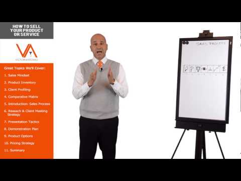How to Sell Your Product or Service Series Intro – Online Sales Training Course