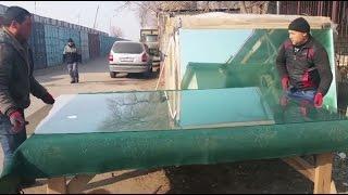 Учитесь резать стекло у таджиков
