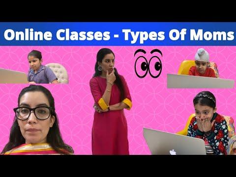 Online Classes - Types Of Moms   Ramneek Singh 1313 @RS 1313 SHORTS