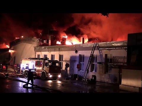 Μόσχα: Νεκροί 8 πυροσβέστες από φωτιά σε αποθήκη
